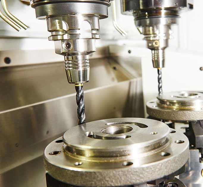 Custom component machining - Our services - McKellar